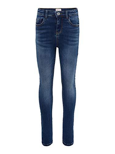 ONLY Girl Skinny Fit Jeans KONPaola HW 152Medium Blue Denim