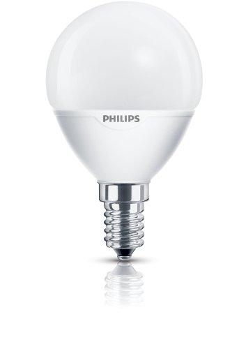 Philips 65792700 A, Energiesparlampe, Glas, 5 W, E14, weiß, 12 x 5 x 5 cm