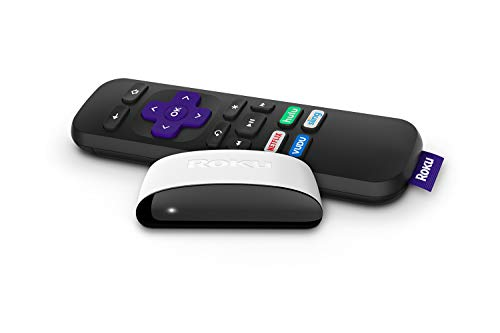 Roku SE | Fast High-Definition Streaming. Easy On The Wallet. | TV Must Have USB Port for Power | Includes: Remote, HDMI Cable, and USB Power Cable (White) (Renewed)