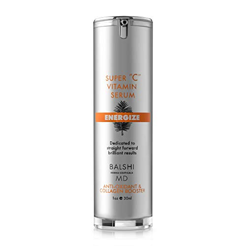 Energize Vitamin C Serum for Face & Eyes - Clinical Strength Collagen Booster with Triple Vitamin C - Dermatologist Developed Skin Care For Anti-aging, Fades Dark Spots and Repairs Sun Damage 1oz