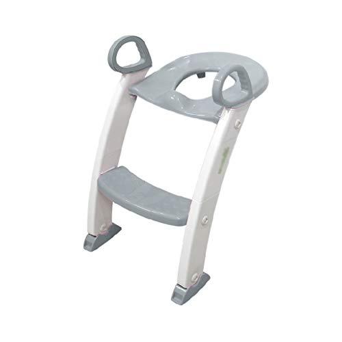 Asiento para niños pequeños Asiento Potty Training Potty niños silla del asiento de formación del tocador manijas del asiento del bebé WC...