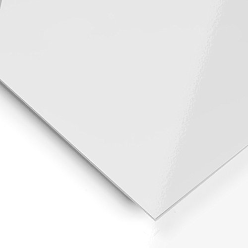 Metacrilato opaco Blanco - 60 x 50 cm x 3 mm