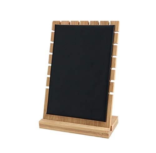 Collar Colgante Monitor Estan Ventana Decoración Joyería Almacenamiento Bandeja Casa Artesanía Sencillo Y Elegante/Negro / 17.5x8x25cm