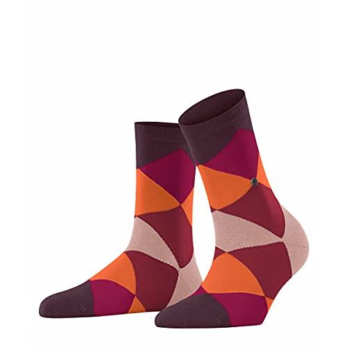 Burlington Damen Bonnie W SSO Socken, Rot (Claret 8375), 36-41 (UK 3.5-7 Ι US 6-9.5)