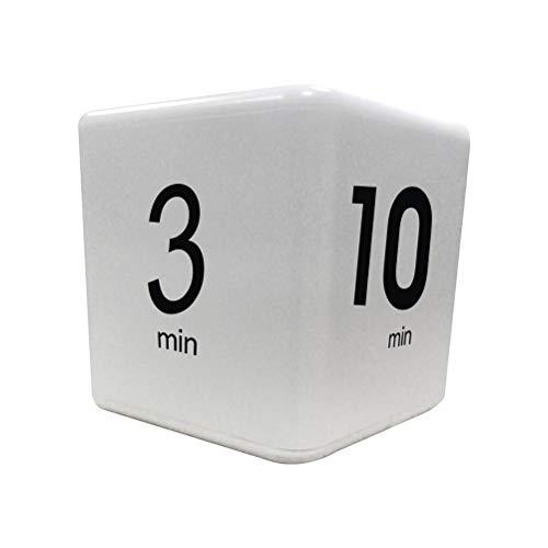 CJMING Temporizador De Cocina, Temporizador De Efectividad De Aprendizaje, Volumen De Alarma Ajustable, Temporizador De Cubo Creativo, Temporizador De Cuenta Regresiva De 1-10 Minutos