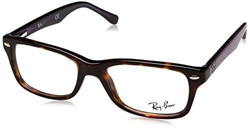 Luxottica S.p.A. Ray-Ban Unisex-Kinder 0RY 1531 3750 46 Brillengestelle, Braun (Havana)