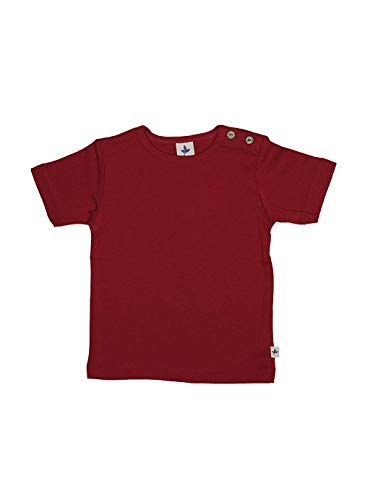 Leela Cotton T-shirt bébé / enfant en coton bio - Rouge - 6 ans
