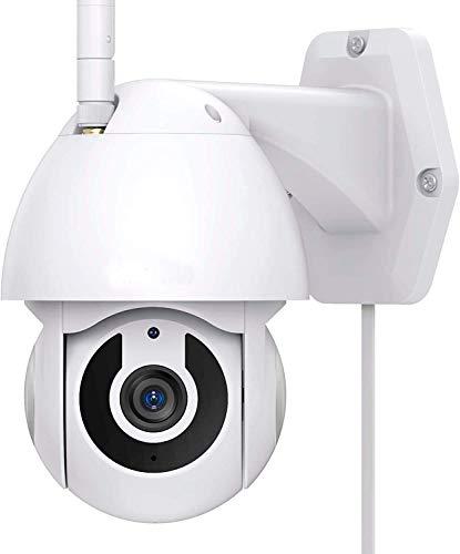 Cámara de Seguridad Exterior IP WiFi 1080P Si Smart Compatible con Smart Life, con visión Nocturna,...