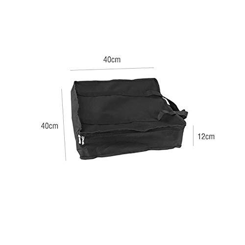 31Q7Fi3rh7L - BGROESTWB Tragbare Grillzubehör Folding beweglicher Edelstahl-Außen Charcoal BBQ Grill for das Wandern Picknick Camping Für Grillparty (Color : Silver, Size : 36x36x32cm)