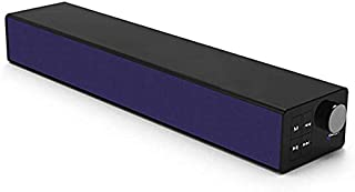 Bluetooth Soundbar Speaker Bluetooth 5.0 Portable Home Theater 26H Playback 20W Power Support AUX 3.5mm Line-in Connection Suitable for PC TV