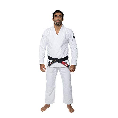 Kingz The One Kimono Weiß BJJ Gi Brazilian Jiu-Jitsu Gi Uniform Grappling, A2L