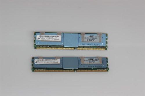HP PC2-5300 8GB Arbeitsspeicher (667 MHz, DDR2, FB-DIMM 2X 4GB Kit)
