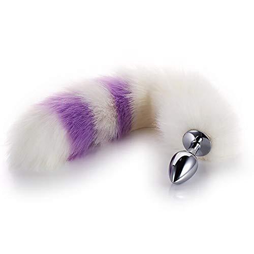 Damen Soft Massage Fuchsschwanz Cute Plug Gr. Einheitsgröße, S