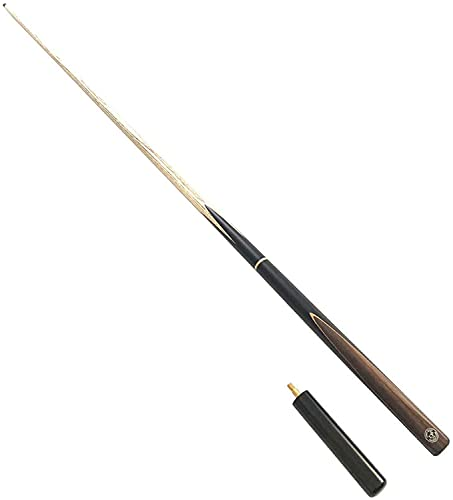 Billiard Cue Sticks Pool Cue Stick 57 Inch 3/4 Jointed Billiard Pool Cue Jump Stick,11.5MM Stainless Steel Tip,Each Style Will Attached Extended Grip,Easy And Stable When Hitting, Smooth Hand Feelin(S