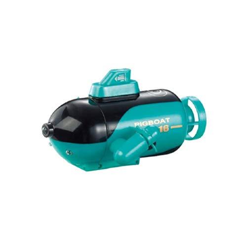 Mini Drone Submarino, Mini RC Submarino HD Drone Cámara Submarina con FPV (Verde)