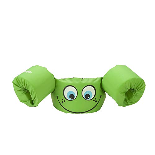 Stearns Original Puddle Jumper Kids Life Jacket | Life Vest for Children, Green Smile
