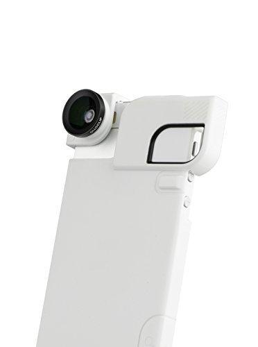 olloclip Quick-Flip Case and Pro-Photo Adapter + 3-IN-1 Lens - iPhone 5/5s/SE: L-WT/C-WT