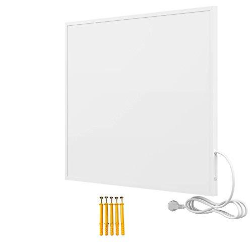 Bringer Infrarotheizung Infrarot Wandheizung Heizung Heizkörper Thermostat (450 Watt, Heizplatte ohne Zubehör)