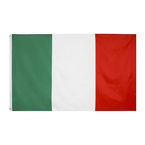 BESPORTBLE Bandera Italiana Color Vivo Y Bandera Resistente a La Decoloración Ultravioleta Interior Juegos Olímpicos 2020 Interiores Decoración de Eventos Deportivos