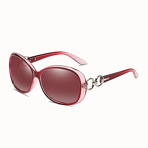 MOMAMOM Gafas De Sol Polarizadas Mujer ProteccióN UV Aire Libre Conducción Vintage CláSico Lentes Marco Viaje Moda Rectangulares Golf Elegante Deportivas Senderismo Red