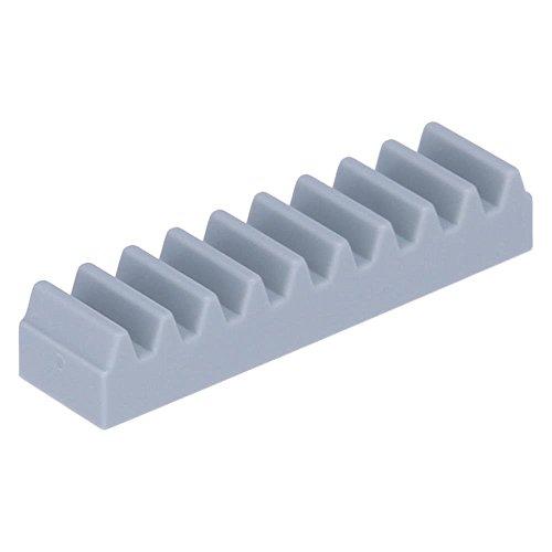 10 x LEGO® Technik, Getriebe Zahnstange 1 x 4 Hellgrau (Neugrau)