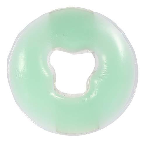 Kopfkissen aus Silikongel, speziell für Massagetische, für Schönheitsinstitute, Kosmetiksalon (Farbe: grün)
