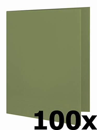 ELBA Aktendeckel Smart Line, Karton, grün, 100er Pack