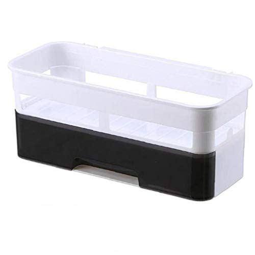 Case&Cover Punch-Free Bagno mensola del Bagno Storage Rack Carrello igienici Prodotti da Bagno Serbatoi No Trace Adesivi Accersories Bagno