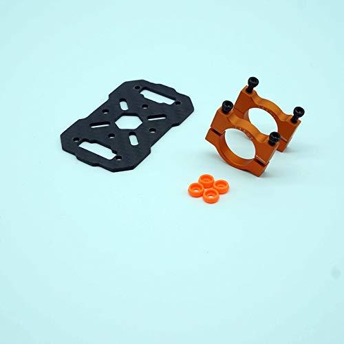 XUSUYUNCHUANG-HAT Kamera-Drohne Zubehör DIY Tarot Iron Man 680Pro Fy680 680 Pro 690S Rahmenteile aus Metall GPS-Mount Halterung Drone Zubehör (Color : Black)