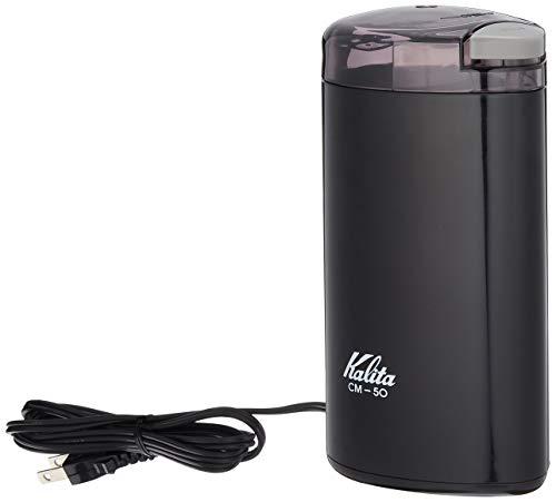 カリタ 電動 コーヒー ミル 日本製 ブラック CM-50