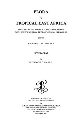 Flora of Tropical East Africa - Lythraceae (1994)