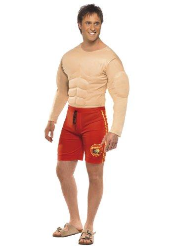 Baywatch Rettungsschwimmer-Kostüm für Erwachsene, Größe L