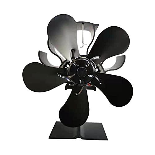Ventilador de chimenea Chimenea Estufa de leña o estufa de pellets dispersando eficazmente aire caliente alrededor de su sala de fantástico de estufa eléctrica Ventilador de estufa de leña