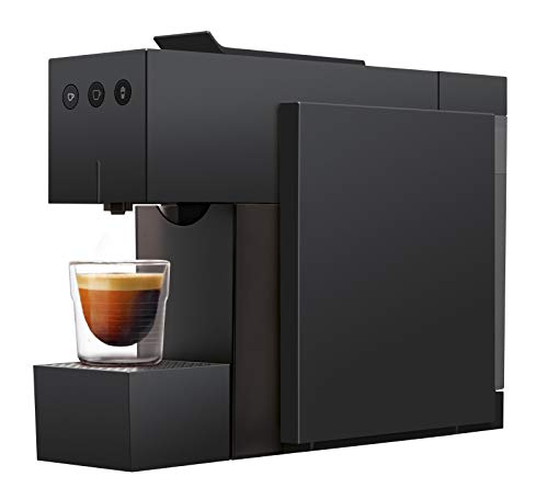 K-FEE Square Kaffeekapselmaschine, (1455 Watt, 0,8 Liter Wassertank, Farbe High Gloss Black)