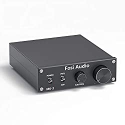 professional Subwoofer amplifier 200W mini monaural audio amplifier, full frequency, switchable subwoofer …