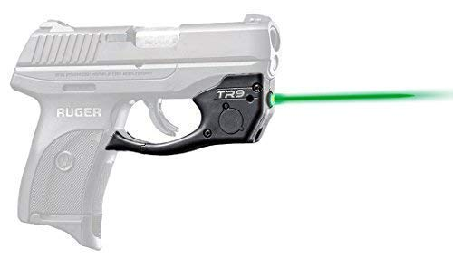 ArmaLaser Designed to fit Ruger LC9 LC9s LC380 EC9s TR9G Super-Bright Green Laser with Grip Activation