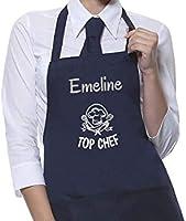 Tablier personnalisé motif Top Chef, tablier homme ou femme, tablier cuisine, cadeau personnalisé, cadeau personnalisable