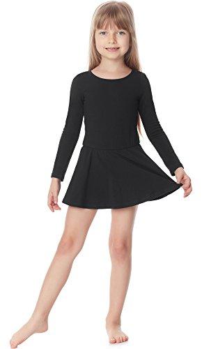 Merry Style Meisjes Lichaam met Rokje Ballet Jurk Lange Mouw MS10-138