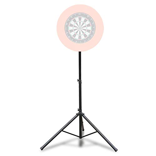 GOFEI Adjustable Dart Board Tripods Stand, Stands can Hold Electronic Dartboard,Bristle Dartboard and Monitor, (Excluding Dart Board Target)