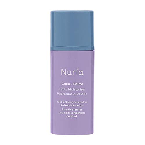 Nuria Beauty | Calm Vegan Daily Face Moisturizer | Designed for Sensitive Skin | 30 ML