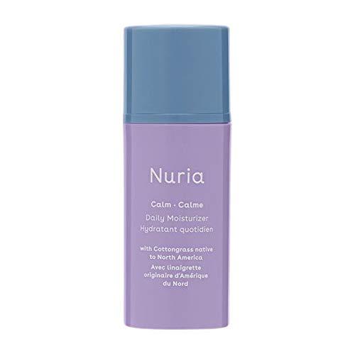 Nuria Beauty   Calm Vegan Daily Face Moisturizer   Designed for Sensitive Skin   30 ML