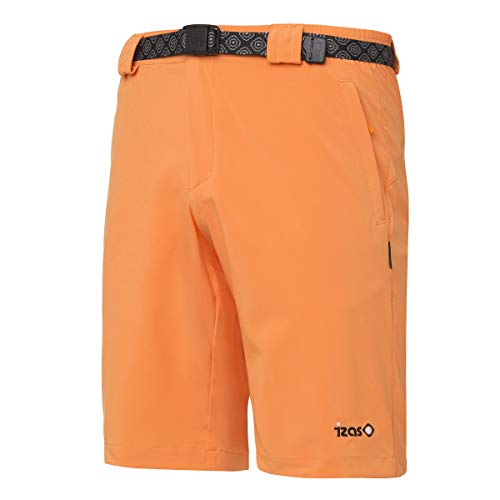 IZAS ORIZABA Bermuda Stretch Homme, Orange, FR (Taille Fabricant : XL)