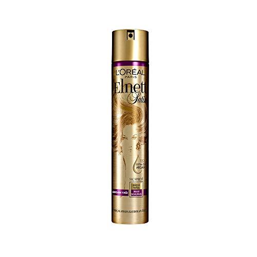 L'Oréal Elnett Laque Coiffante Cheveux secs à l'huile d'argan 300 ml