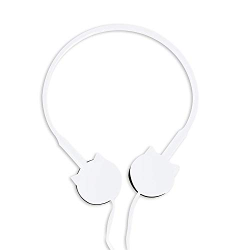 Head Mounted Earphones for Beauty Blogger, Cartoon Leuke Kat Met Microfoon Hoofdtelefoon