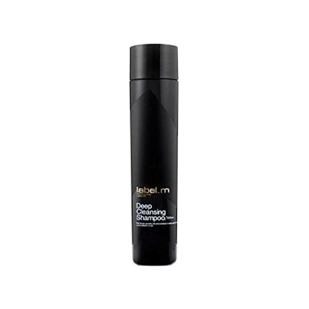 決してコーンウォールビザLabel.M Deep Cleansing Shampoo (300ml) - .ディープクレンジングシャンプー(300ミリリットル) [並行輸入品]