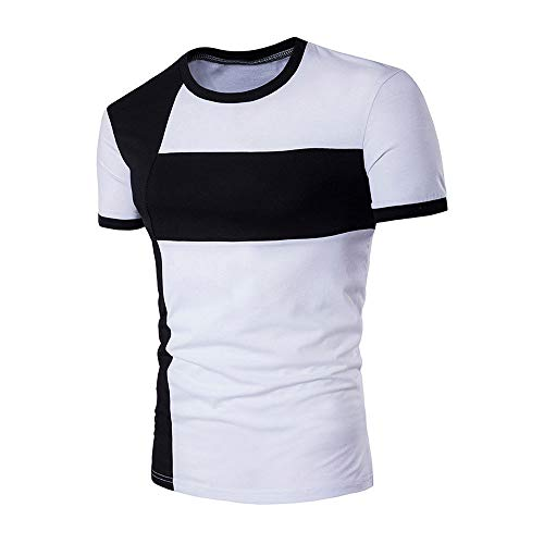 Great Features Of EOWEO Men's Short T-shirt New Men's Tops Shirt Slim Fit Short Sleeve Casual T-Shir...