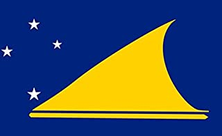 Tokelau Flag 5ft x 3ft Large - 100% Polyester - Metal Eyelets - Double Stitched