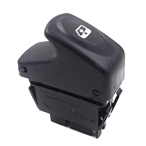 LUOERPI Botón de Interruptor de Control de Ventana de Coche de 5 Pines, para Renault Kangoo 1997-2014 Megane 1995-2003 Clio 1998-2014,7700838100