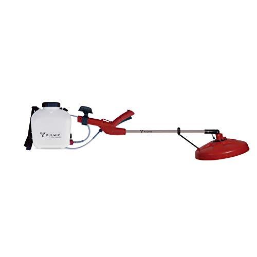 Pulmic 8220 Pulverizador Hidráulico Centrifugo, Rojo y blanco