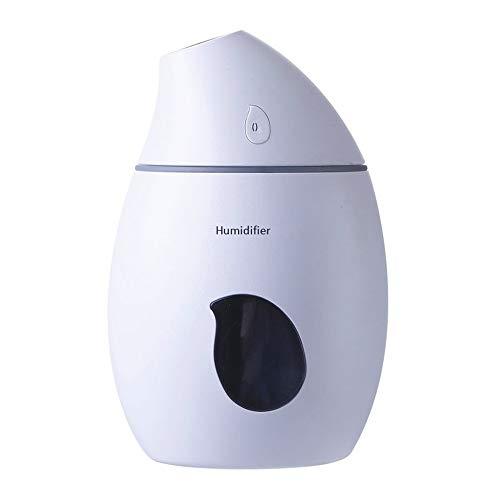 NPOWF humidificador de Aire hogar Mudo pequeño Dormitorio USB Mujer Embarazada Mini bebé Oficina Aerosol a Granel,B